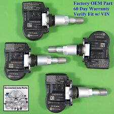 Set of 4 Crosstour CRV TIRE PRESSURE SENSOR TPMS OEM 42753-TP6-A820-M1 SET-TS49