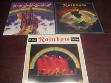 RAINBOW RICHIE BLACKMORE RISING & ON STAGE LIMITED EDITION COLORED VINYL 4 LP'S