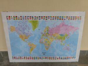 Cartina Mondo Trovaprezzi.Poster Cartina Mondo Acquisti Online Su Ebay