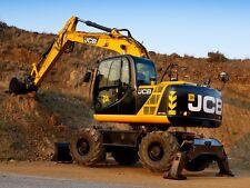 Jcb Js130w Js145w Js160w Js175w Auto Tier 3 Wheeled Excavator Service Manual