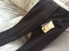 NWT Burberry Black Size 4  Side Ankle Zip Skinny Pants/ Stretch. $550 in store