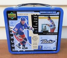Upper Deck 1999 Retro NHL Wayne Gretzky (NY Rangers) Tin Lunch Box [VHTF] (VGUC)