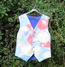 Linen Button Regular Size Waistcoats for Men