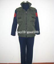 Naruto Ninja Hatake Kakashi Vest Cosplay Costume high quality Vest+Jacket+Trouse