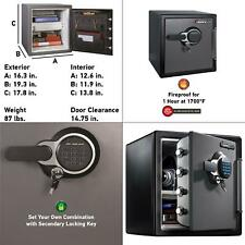 Sfw123Gtc 1.23 cu ft Fireproof Safe and Waterproof Safe with Digital Keypad
