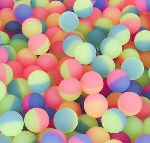 "144 - 27mm Icy Balls Premium 1"" Super Bouncy Balls"