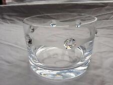 Valentines day gift Vase + Elegant + Swarovski Crystal & Sandblasted W6A