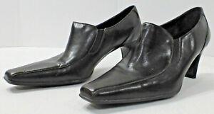 """Liz Claiborne """"Lanie"""" Womens Ankle Boot Heels Shoe, Dark Brown, Size 9 1/2M"""