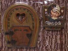 Tree Trunk Fairy & Gnome Door & Window Set garden fantasy decor New