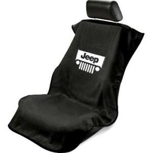 Seat Armour 'Jeep with Grille' Seat Protector Towel - You Pick Your Color!!