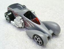 Vintage 1999 HOT WHEELS-Grey Diecast Screaming Hauler Car-China
