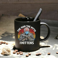 The Man Myth Mittens Funny Inauguration Bernie Sanders Coffee Mug