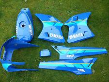 Yamaha tzr125 Azul Y Amarillo Completa Decal Set (sólo la etiqueta engomada)