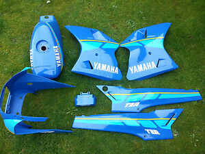 yamaha tzr125 blue & yellow complete decal set (sticker only)