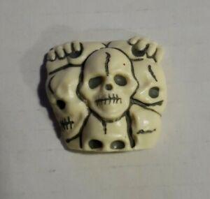 Tonka Super Naturals 1987 Skull Evil Leader CHEST ARMOR Weapon Accessory Part