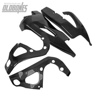 Carbon Fiber Frame Swingarm Cover Protectors For SUZUKI GSXR600 750 2006-2010