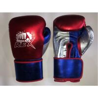 Rex Shine Leather Boxing Gloves for Pro Fighters