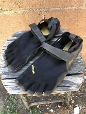 Vibram Five Toe Fingers M148 Barefoot Minimalist Shoes Size 41 Black