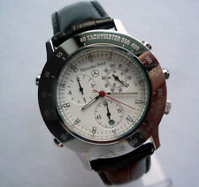 Mercedes Benz Sport Classic Car Acessory Fortis Swiss Made Chronograph Watch