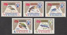 Yemen, 1965 Birds. SG R72-6 Unmounted Mint MNH