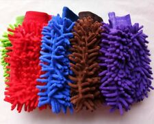 5pcs 5colors car washing glove easy to clean car cleaning tools kitchen helper