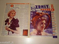 VANNA VANNI=ANITA LOUISE=1937/21=Novelle Zenit=Cover magazine=