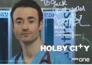 Joe McFadden  (Holby City) Signed Cast Card