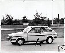 1977 Mk 1 Ford Fiesta 1300 S Sport Original Vintage B&W Press brochure PHOTO