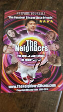 THE NEIGHBORS PROMO CARD AUTO SIGNED BY TOMMY WISEAU JOHNNY ROOM DISASTER ARTIST
