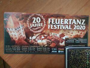 Ticket Feuertanz Festival 2022