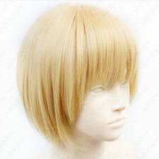 Attack on Titan Armin Arlert Short Blond Cosplay Wig Free shipping