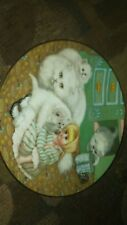 hamilton collector plates Captive Audience from country kitten 1988
