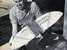 "Model Airplane Plans (UC): SUPER TWISTER 36"" Combat for .36 by Carl Berryman"