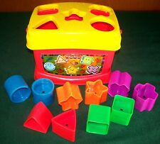 2006 Fisher-Price Brilliant Basics Baby's First Blocks - Complete - 10 Shapes