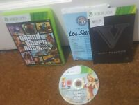 Grand Theft Auto V (5) GTA XBOX 360 INSTALL DISC 1 ONLY - INC Map & Manual - B2