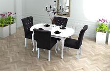 Toll 4x Chesterfield Stühle Stuhl Set Polster Garnitur Küchen Wohnzimmer  Esszimmer *