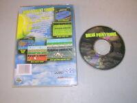 BREAK POINT TENNIS (Sega Saturn) Game & Case, No manual