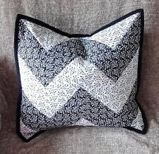 Chevron/Zig Zag Cushion Cover Quilted Decorator Cushion/Pillow Country