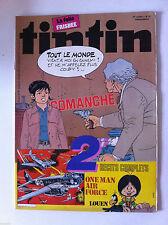 b)TINTIN du 10/08/1982  N°32; Les Stones et Interview Mick Jagger