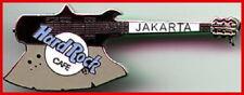 Hard Rock Cafe JAKARTA 2000 Black & Grey KISS Axe Guitar PIN - HRC Catalog #3719