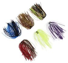 10pcs Fishing Skirt for DIY Spinnerbait Buzzbaits Squid Fly Tying Material baits