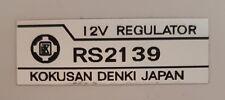 SUZUKI X7 REGULATOR DECAL