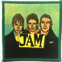 THE JAM Old OG Vtg 70/80`s Printed Patch Sew On Punk Mod(NOT shirt pin badge)