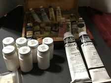 Liquitex Acrylic Artists Color Paint Lot  Various colors PREOWNED ~2-8oz NEW