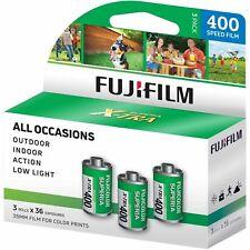 3 Roll - Fuji Superia X-Tra 400 36 Exp. 35mm Color Film, 108 Pictures - Exp 4/22