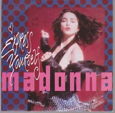 "7"" Madonna Express Yourself / The Look Of Love 80`s Warner Sire"