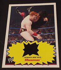 SHEAMUS 2012 Topps Heritage RELIC Authentic WRESTLING Worn SHIRT Rare WWE WWF