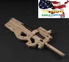 """1/6 scale P90 Rifle Submachine Gun Toys Weapon Models For 12"""" Figure ❶US seller❶"""