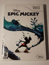 Epic Mickey game complete Nintendo Wii disney