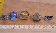 Russian Soviet Space pin lot of 5 from large collection Astronauts rockets 2F